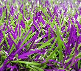 Lavender artificial grass